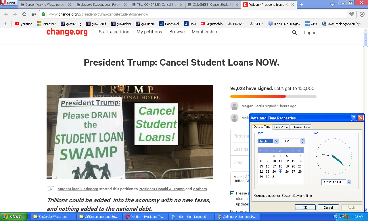 Topic Roblox Tickets Changeorg Gordon Wayne Watts Personal Site Reports On Student Loan Abuse Terri Schiavo Fdle Star Trek Other Top Stories Like The 2002 Fla Election Problems Not Reported In Mainstream Media